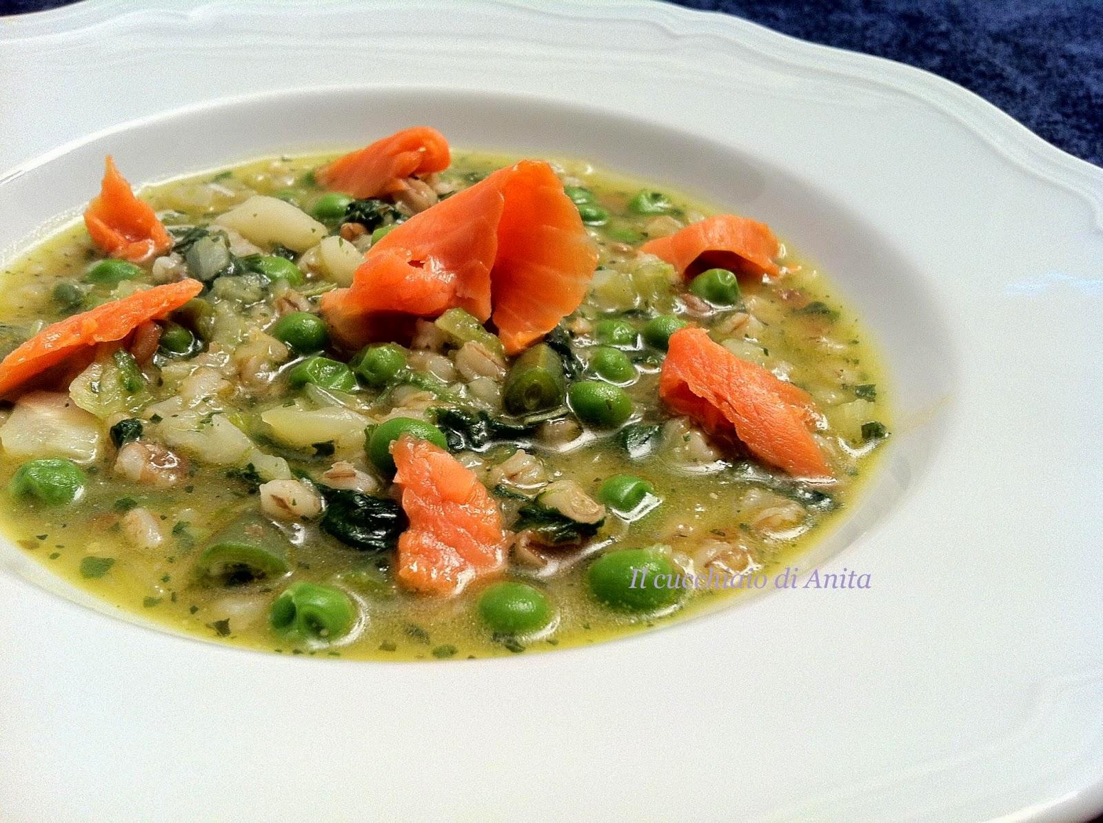 zuppa di legumi affumicata