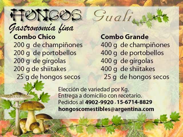 HONGOS  GUALI