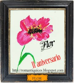 ¡¡FELIZ ANIVERSARIO, FLOR!!