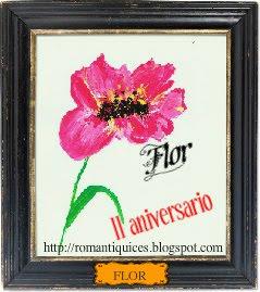 ¡¡FELIZ ANIVERSARIO, FLOR!!