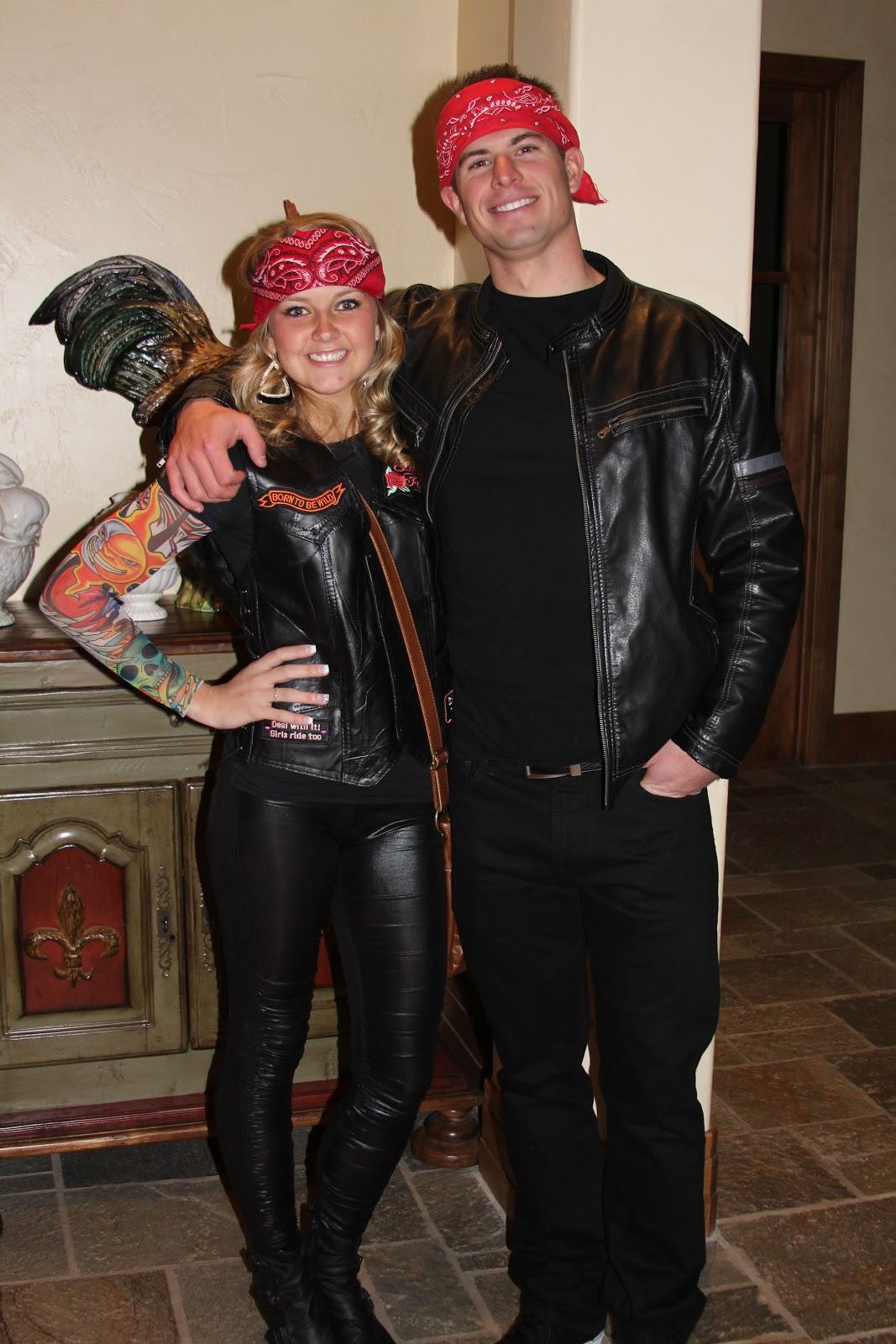 biker couple costume - photo #1