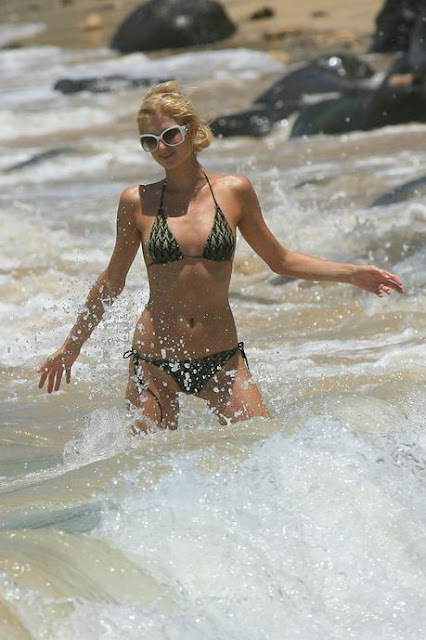 Paris Hilton na Praia