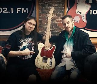 Concurso Cultural Guitarra Autografada do Angra