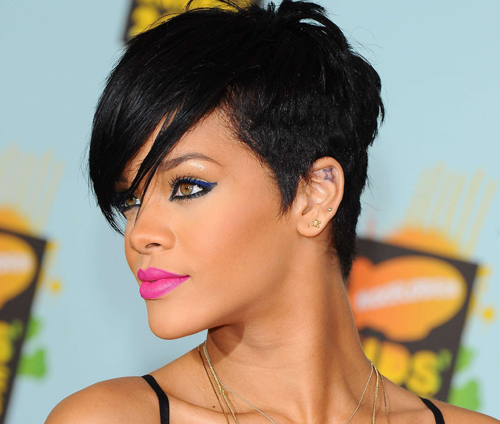 Rihanna Hairstyle Pictures