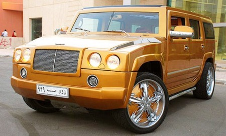 Expensive Car Hummer H2 Bentley Edition