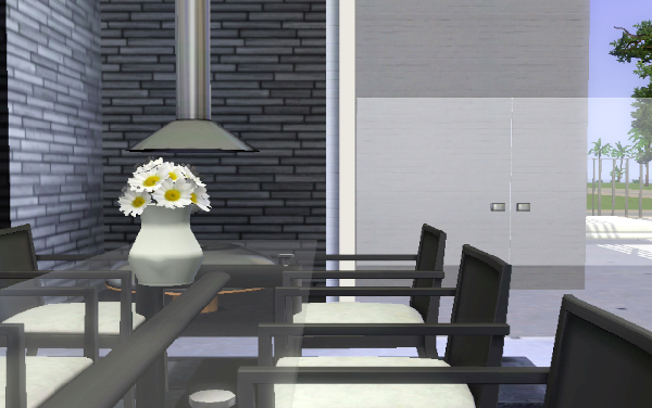 MIX MODERN STYLE HOUSE  THE SIMS 3