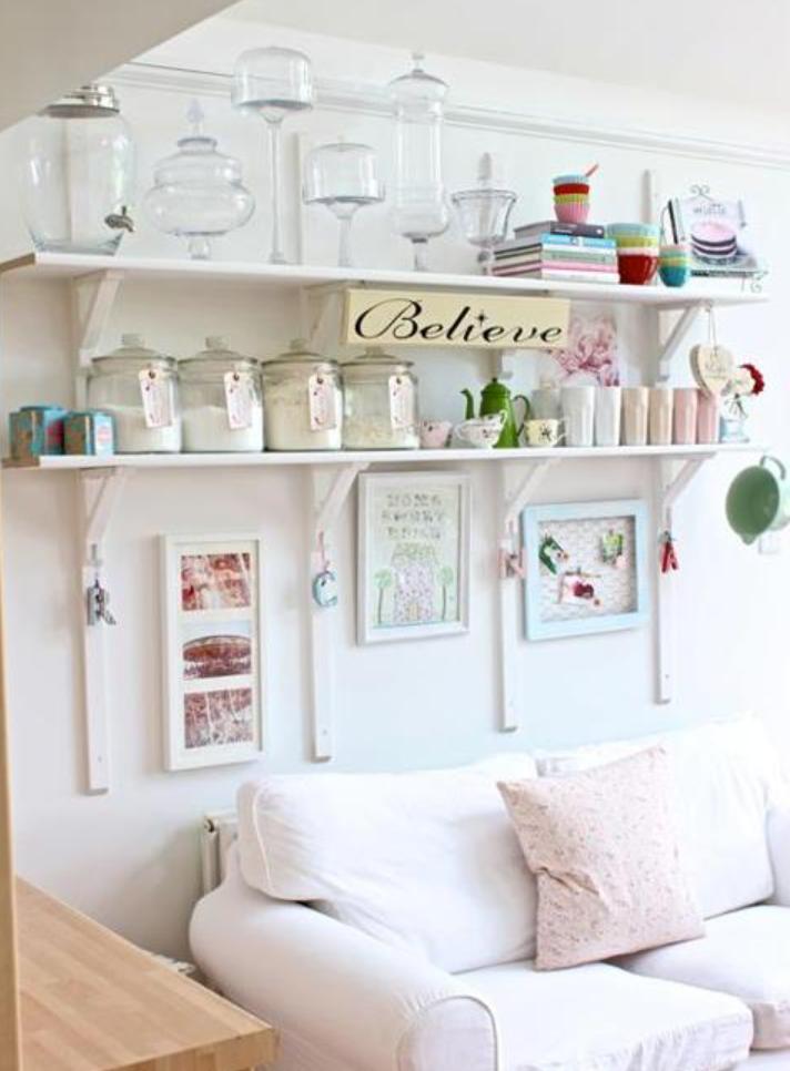 Placer por hacer estantes para la cocina - Como hacer estantes de cocina ...