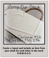 Scrap Our Stash May Stash Challenge 26
