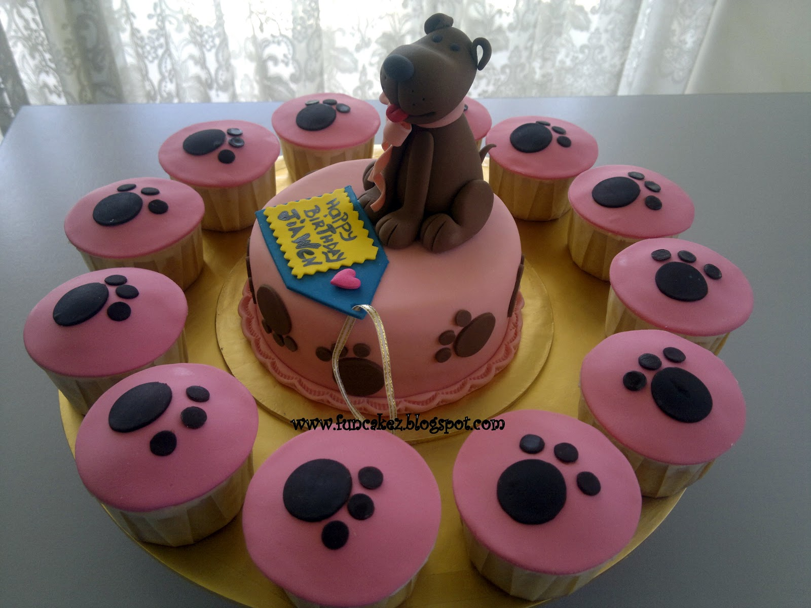 Fun Cakez Puppy Birthday Cake