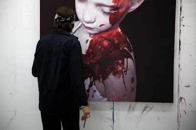 Hiperrealismo Aterrador Pintura de Gottfried Helnwein