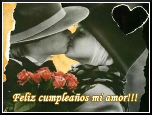Frases De Cumpleaños: Feliz Cumpleaños Mi Amor