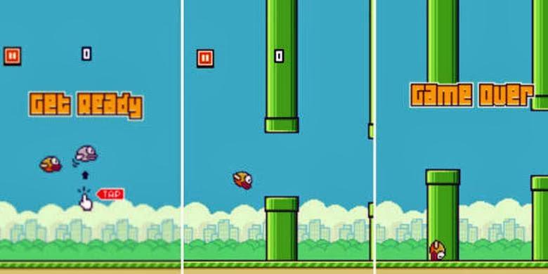 Review Game Flappy Bird - Game Yang Susah Tapi Bikin Ketagihan