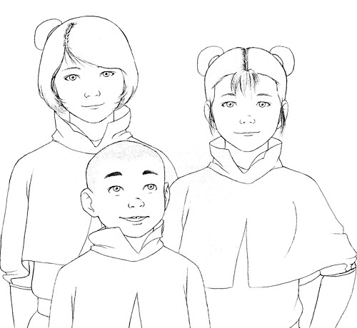 My picture legend of korra coloring pages for The legend of korra coloring pages
