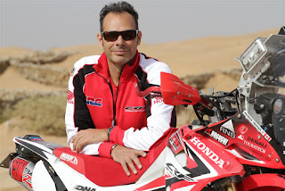 Patrick and his Honda CRF250L Rally