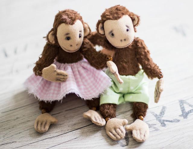 купи набор и сшей свою обезьяну!