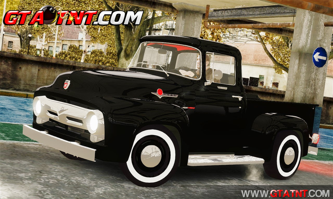 Ford F100 Hot Rod Truck 426 Hemi para GTA 4