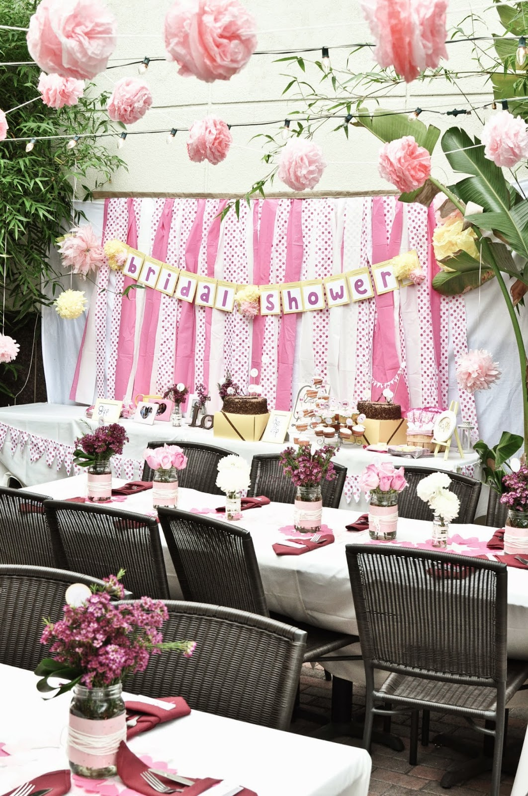 Charming Outdoor Wedding Shower Ideas Part - 7: Photo Credit: Pixgood.com