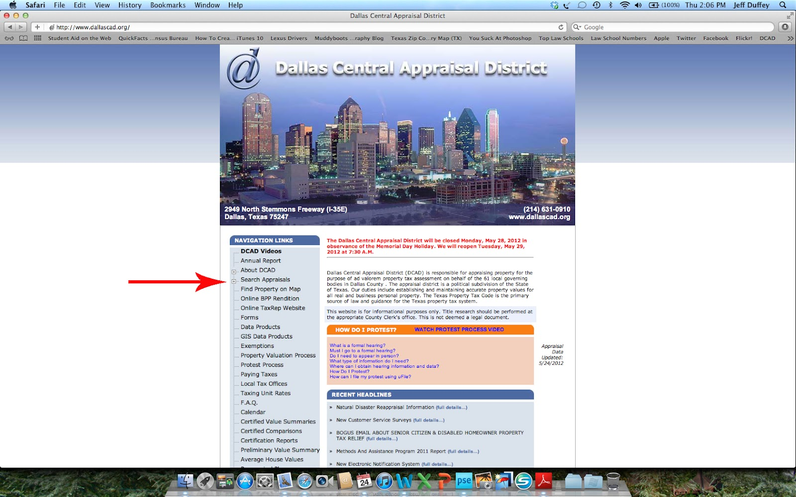 Collincad Org Property Search