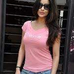 Madhurima Looks Super Hot In Pink Top and Blue Jeans At Telugu Film 'Mahankali' Success Meet