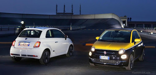 New Redesigned Fiat 500 at Lingotto