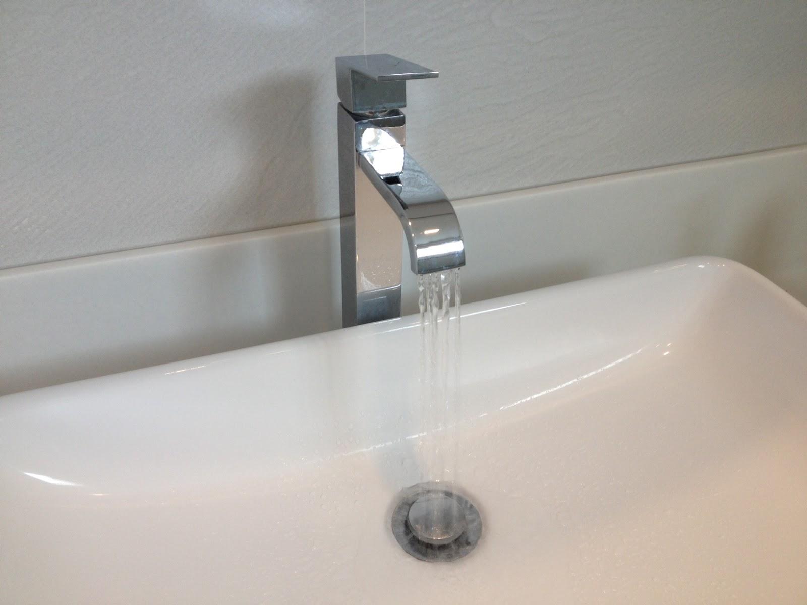 White On White Minimalism Bathroom And Kitchen