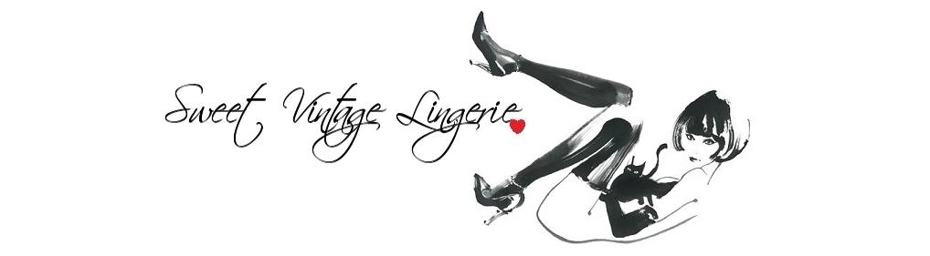 Sweet Vintage Lingerie Blog