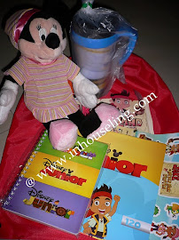 Giveaway : Some Goodies From Disney Junior