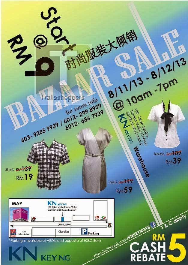 KN Key Ng Bazaar Sale 2013