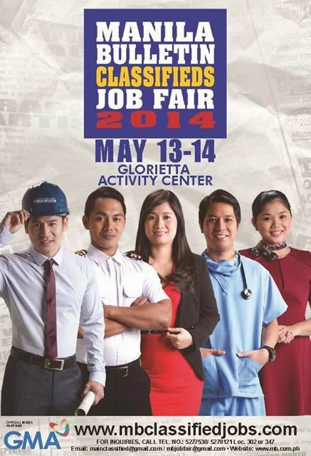 Manila Bulletin Classified Job Fair 2014