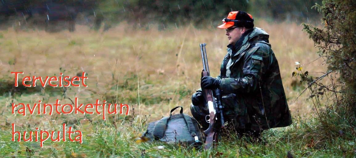 Metsästysblogi, riistareseptit - Terveiset ravintoketjun huipulta