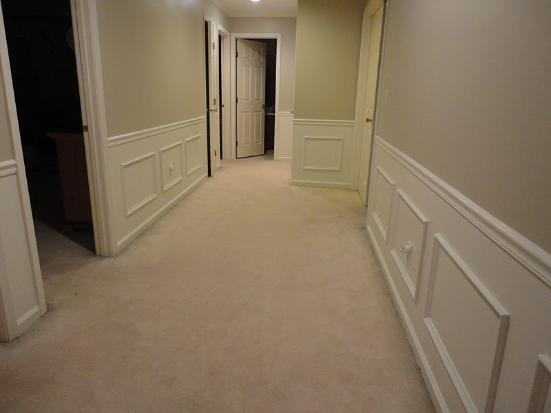 hallway finally. now all i have to do is decorate the hallway finally