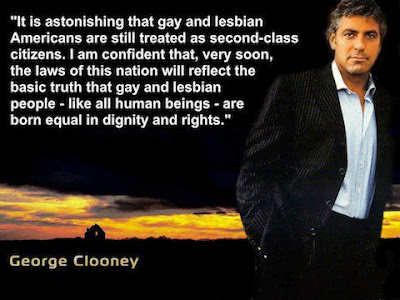 George Clooney on equal rights