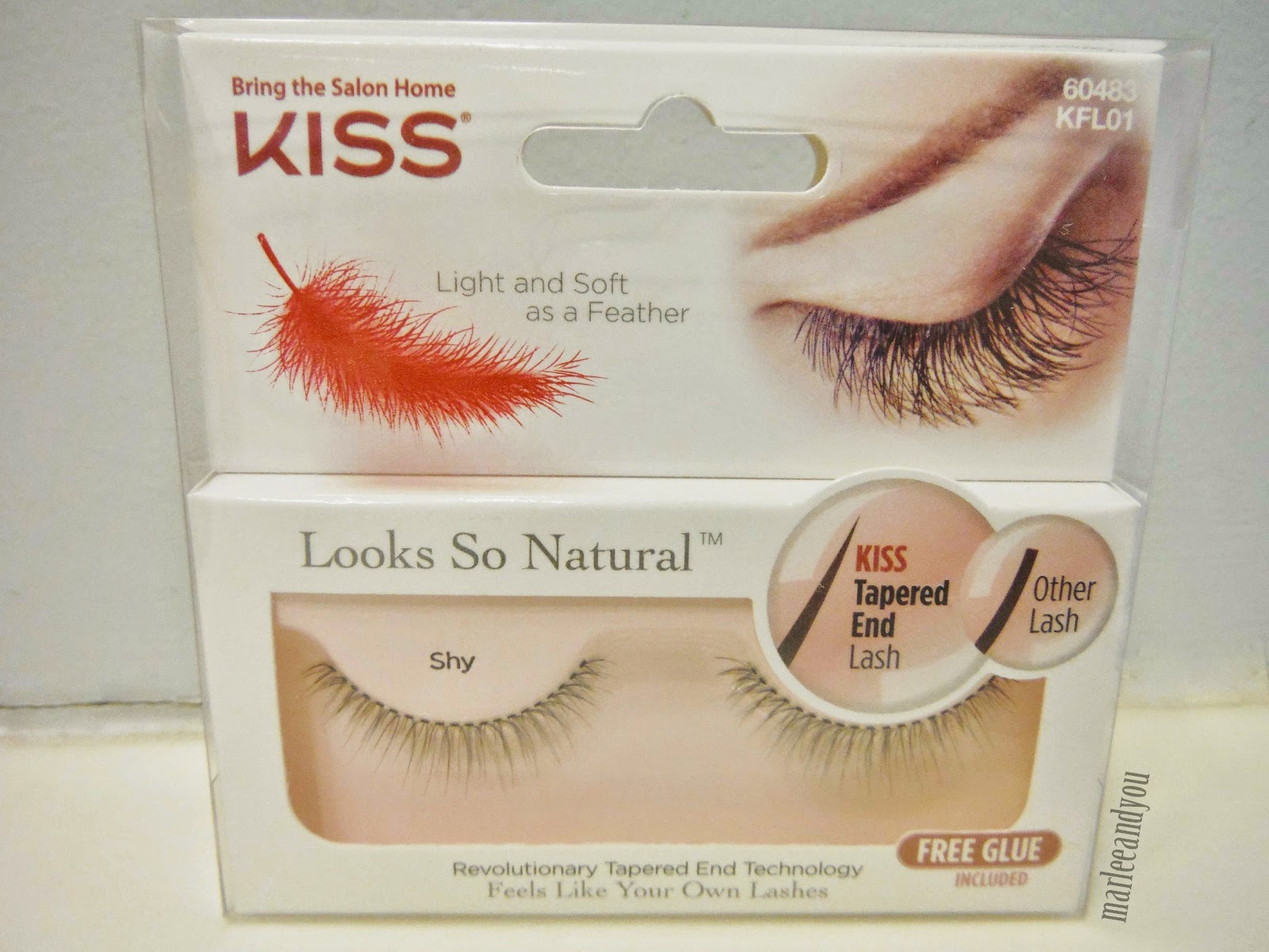 kiss eyelashes | marlee and you