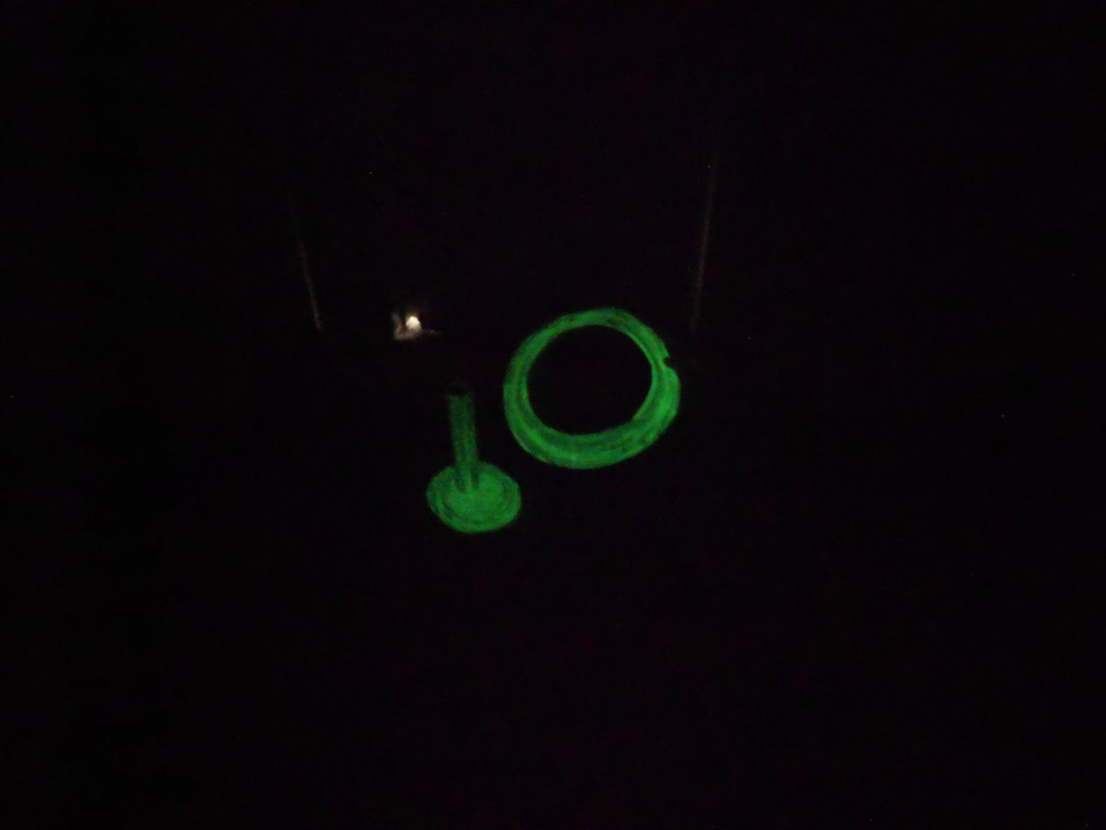 Almost Unschoolers & Almost Unschoolers: Glow In the Dark Paper Plate Ring Toss and ...