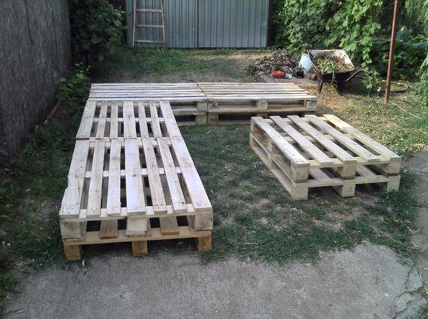 A Membuat Sofa Dan Meja Dari Kayu Palet Bekas Yang Murah