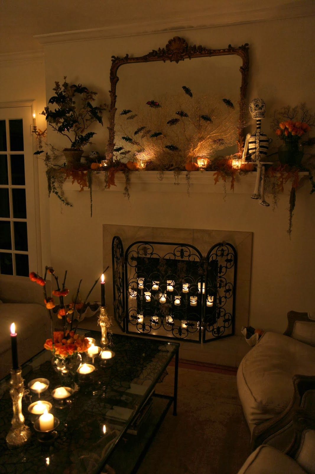 Living Room Decor; Hauntify Your House for Halloween