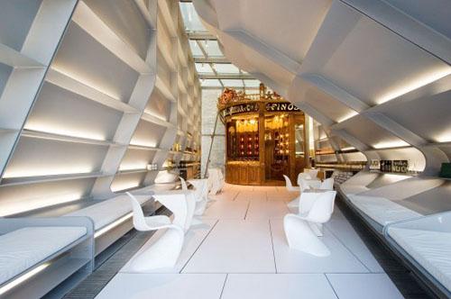Unique Wine Store Concept Design