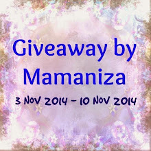 Giveaway By Mamaniza.com