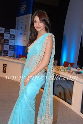 Anushka Sharma  saree photos