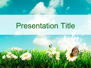 Nature Powerpoint Template 57 แจก Powerpoint Template สวยๆ