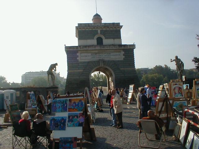 Vivere roma le vie dello shopping a roma l 39 antiquariato for Il mercatino roma