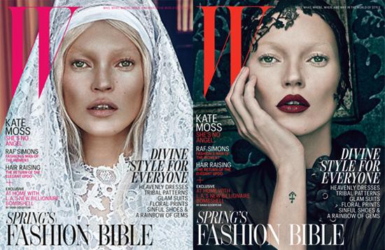 Kate Moss, ange ou démon? Magazine W