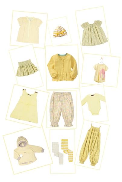barneklær gul