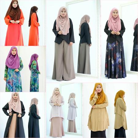 Ayu & Menawan PElbagai Kolkesi TErkini 2017 Seindah Namanya MAsih Mengekalkan Ciri muslimah