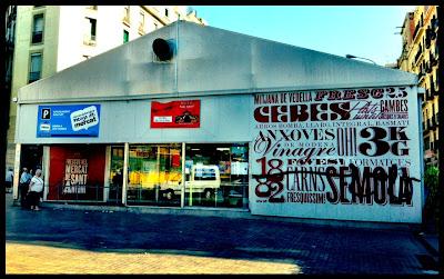 Mercado provisional Barcelona