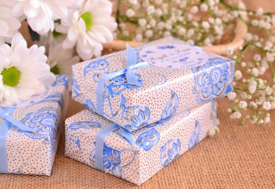 detalles boda en azul jabones hechos a mano