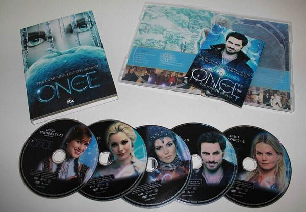 Once Upon a Time Spain | Todo sobre la serie Érase una vez: DVD de ...