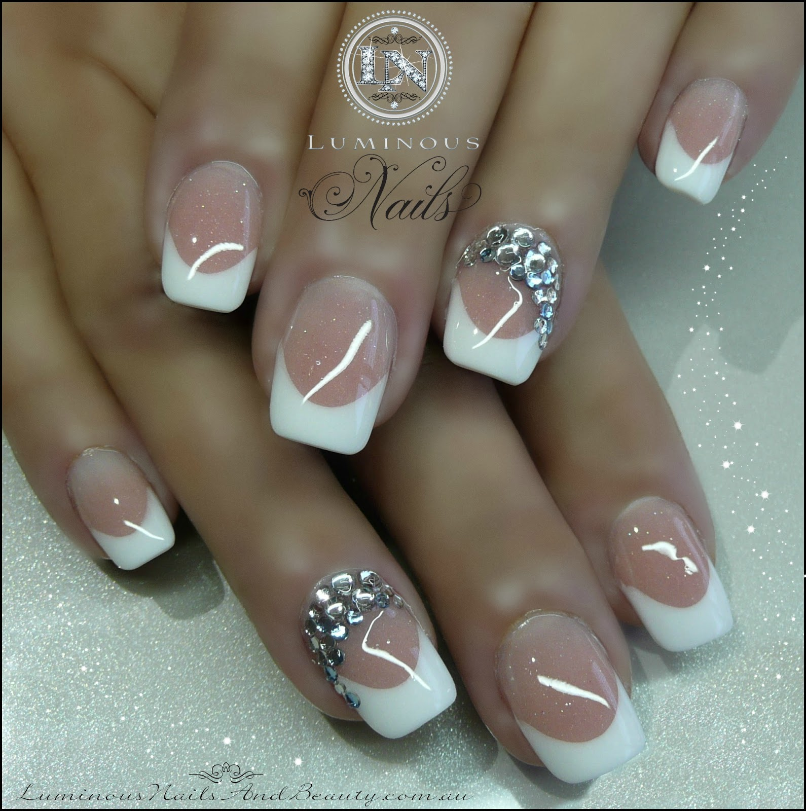 French Nails With a Little