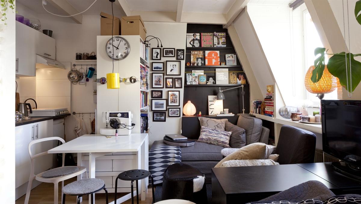 One life: Indret små rum