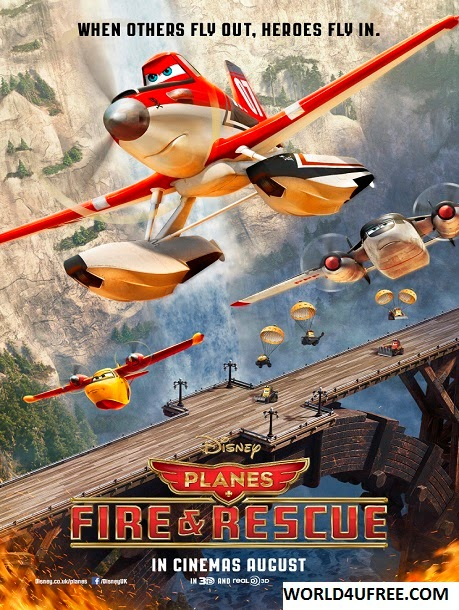 Planes Fire & Rescue 2014 CAM 300MB